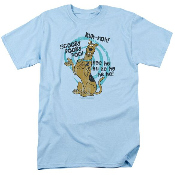 Scooby Doo Quoted Short Sleeve Adult Light T-Shirt