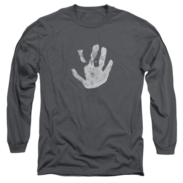 Lor White Hand Long Sleeve Adult T-Shirt