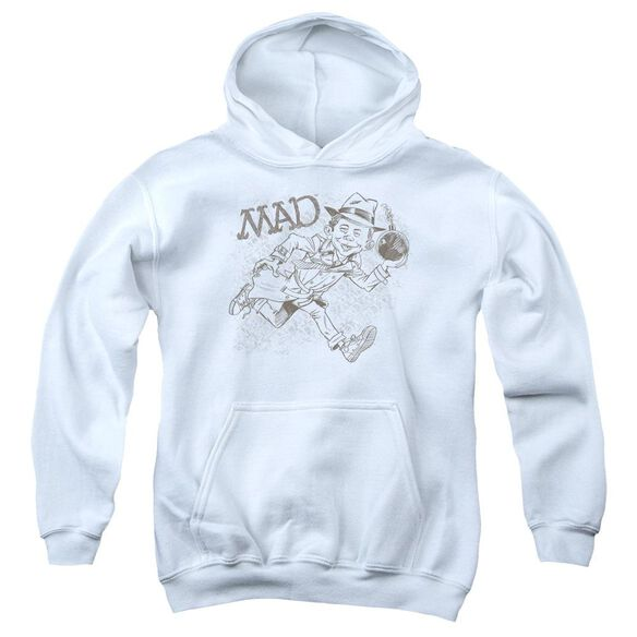 Mad Sketch Youth Pull Over Hoodie