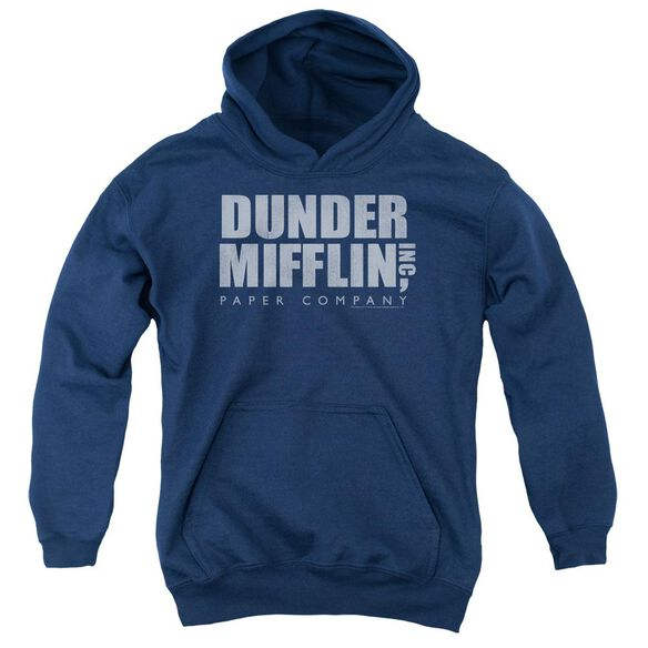 The Office Dunder Mifflin Distressed Youth Pull Over Hoodie
