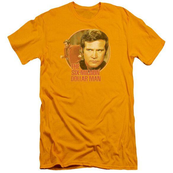 Six Million Dollar Man Run Faster Short Sleeve Adult T-Shirt
