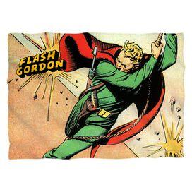 Flash Gordon Space Pillow Case White