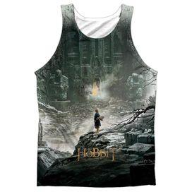 Hobbit Big Poster Adult Poly Tank Top