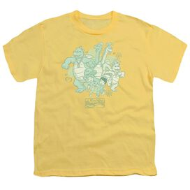 Dragon Tales Group Celebration Short Sleeve Youth T-Shirt