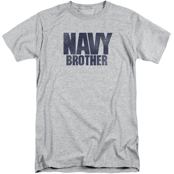Navy Brother Short Sleeve Adult Tall Athletic T-Shirt