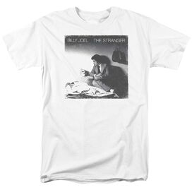 Billy Joel The Stranger Short Sleeve Adult White T-Shirt