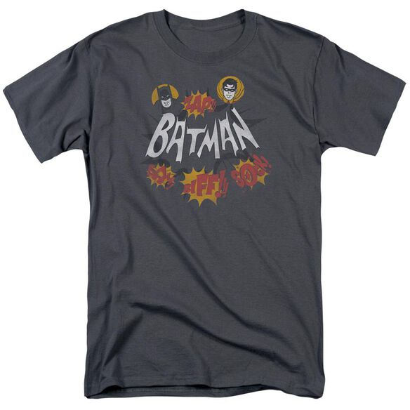 Batman Classic Tv Sound Effects Short Sleeve Adult T-Shirt