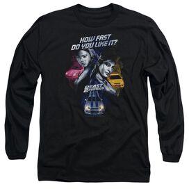 2 FAST 2 FURIOUS FAST WOMEN - L/S ADULT 18/1 - BLACK - MD - BLACK T-Shirt