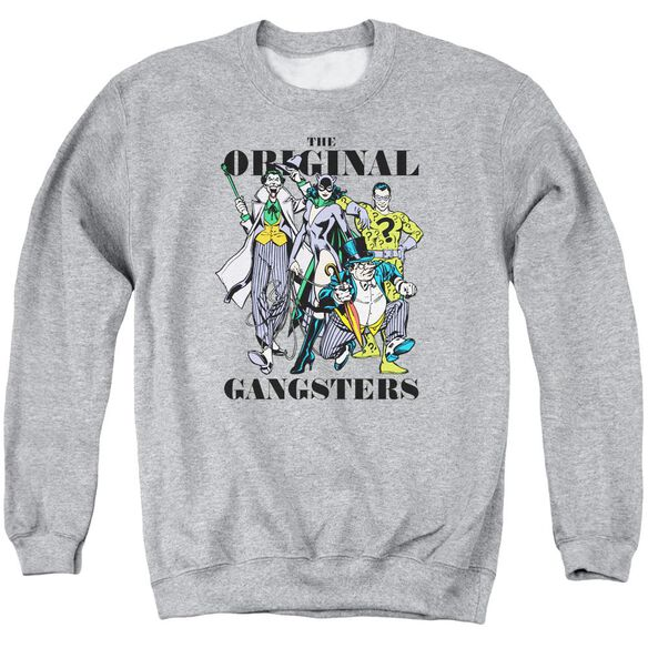 Dc Original Gangsters Adult Crewneck Sweatshirt Athletic