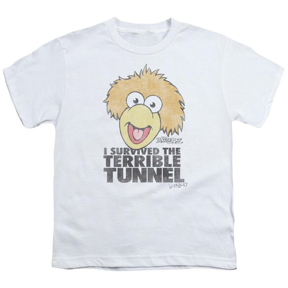 Fraggle Rock Terrible Tunnel Short Sleeve Youth T-Shirt