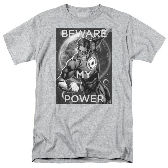 Dc Power Short Sleeve Adult Athletic Heather T-Shirt