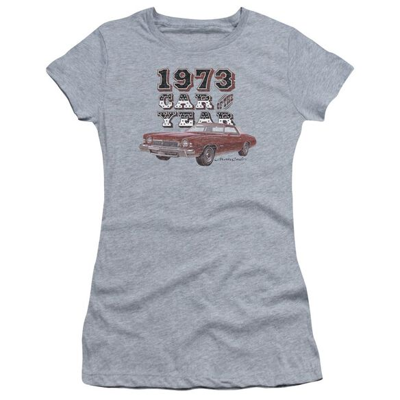 Chevrolet Car Of The Year Short Sleeve Junior Sheer Athletic T-Shirt