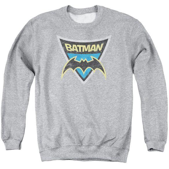 Batman Bb Batman Shield Adult Crewneck Sweatshirt Athletic