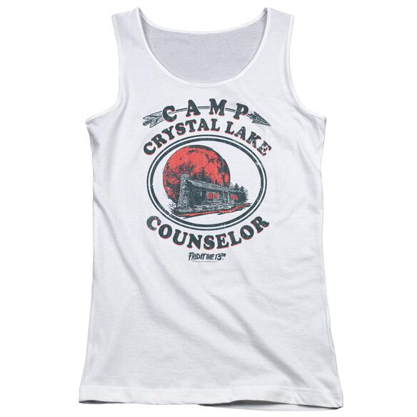 Friday The 13 Th Camp Counselor Juniors Tank Top