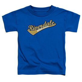 Archie Comics Riverdale High School Short Sleeve Toddler Tee Royal Blue Md T-Shirt