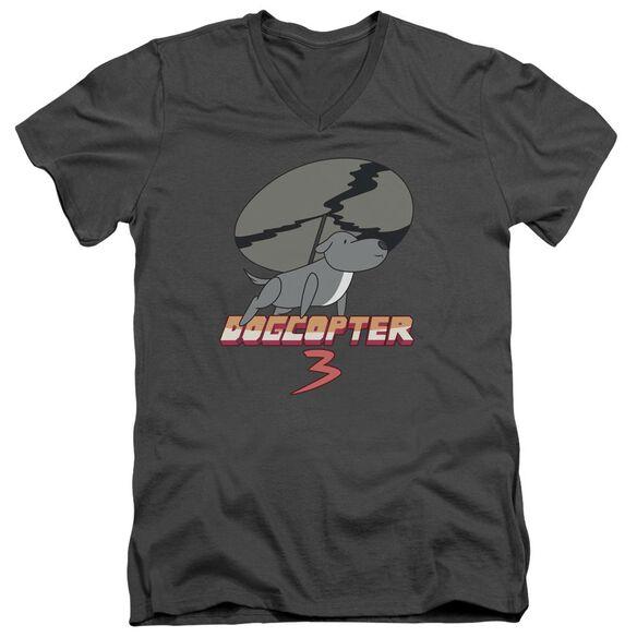 Steven Universe Dogcopter 3 Short Sleeve Adult V Neck T-Shirt