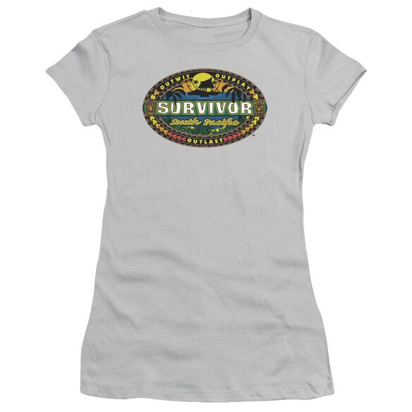 Survivor South Pacific Short Sleeve Junior Sheer T-Shirt