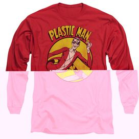 DC PLASTIC MAN - L/S ADULT 18/1 T-Shirt