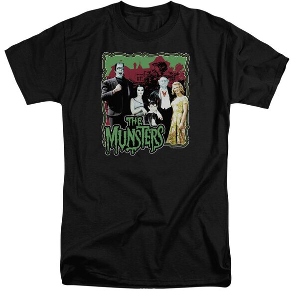 The Munsters Normal Family Short Sleeve Adult Tall T-Shirt