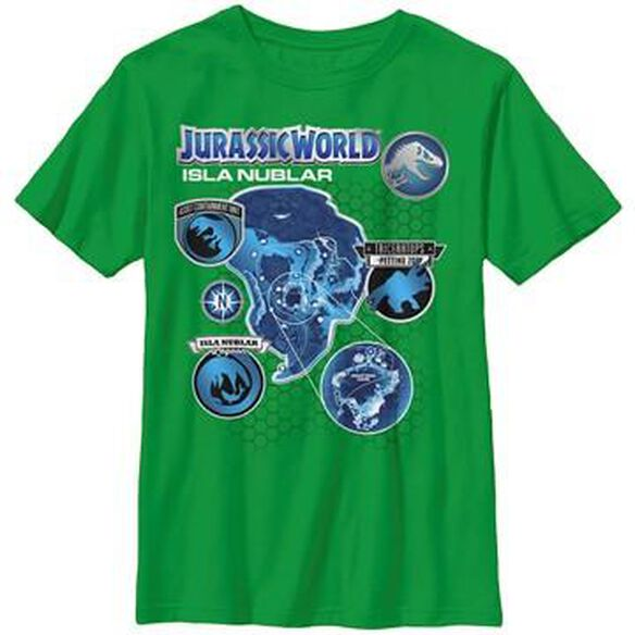Jurassic World Isla Nublar Youth T-Shirt