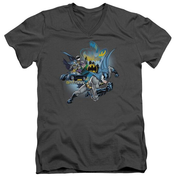 Batman Call Of Duty Short Sleeve Adult V Neck T-Shirt
