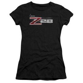 Chevrolet Z28 Logo Short Sleeve Junior Sheer T-Shirt