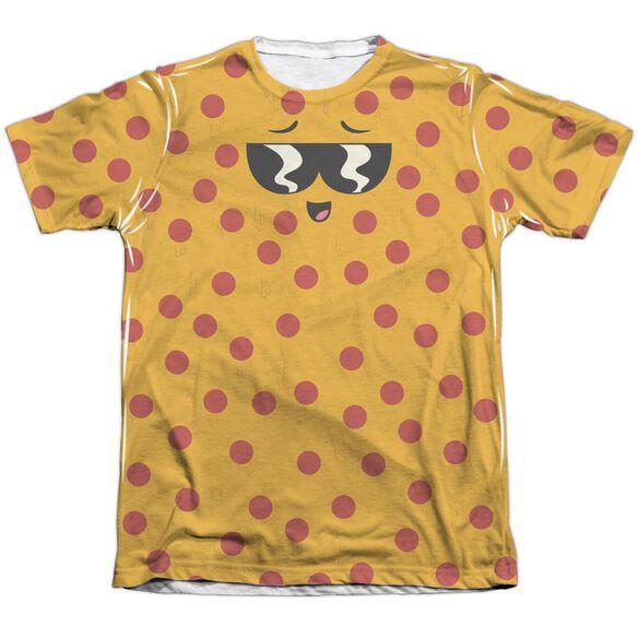 UNCLE GRANDPA PIZZA FACE-ADULT POLY/COTTON T-Shirt