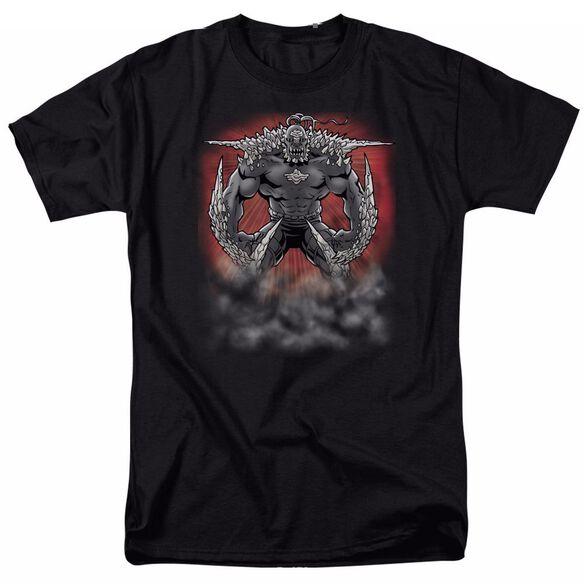 SUPERMAN DOOMSDAY DUST - S/S ADULT 18/1 - BLACK T-Shirt