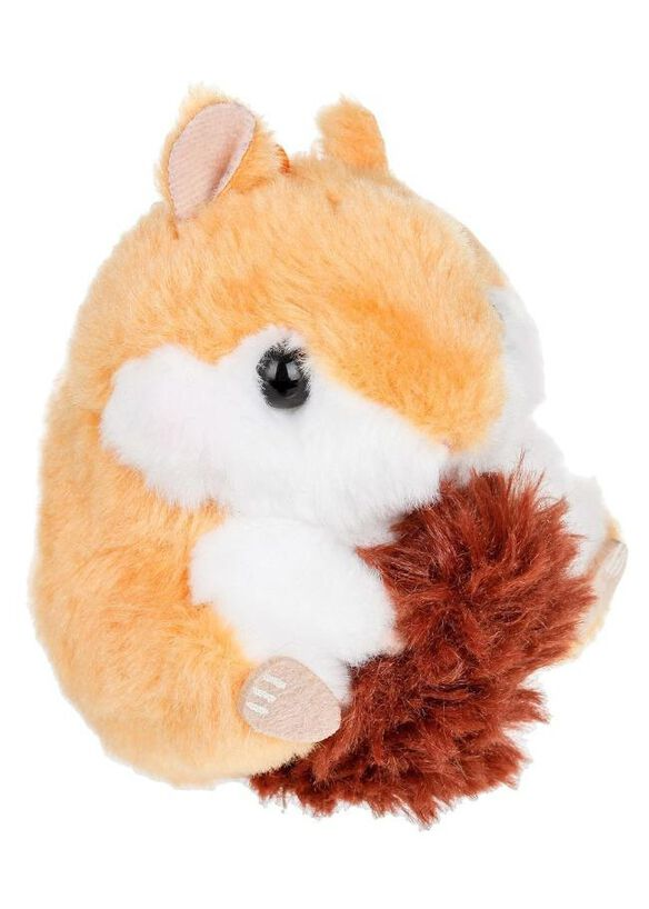 Amuse Dark Brown Chipmunk Keychain