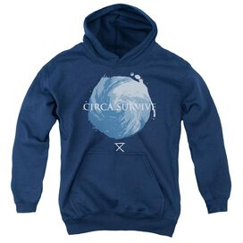 Circa Survive Storm Youth Pull Over Hoodie