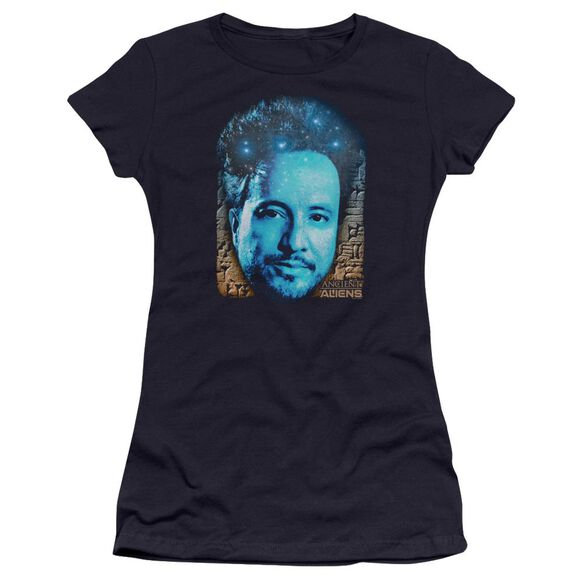 Ancient Aliens As Above So Below Hbo Short Sleeve Junior Sheer T-Shirt