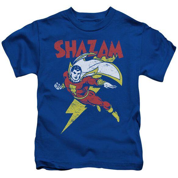Dc Let's Fly Short Sleeve Juvenile Royal T-Shirt