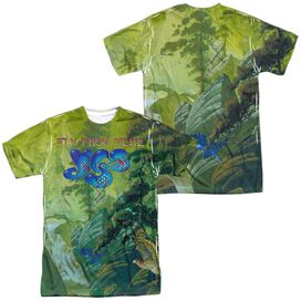 Yes Fly From Here (Front Back Print) Short Sleeve Adult Poly Crew T-Shirt