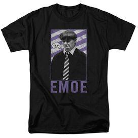 Three Stooges Emoe Short Sleeve Adult T-Shirt