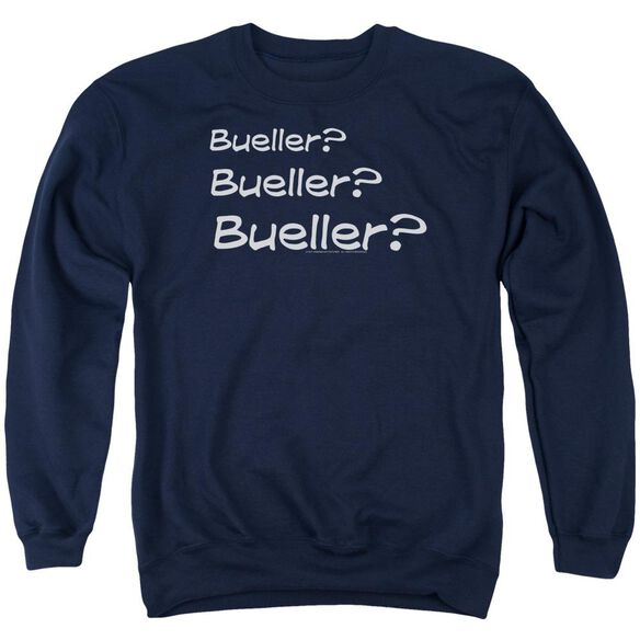 Ferris Bueller Bueller? Adult Crewneck Sweatshirt