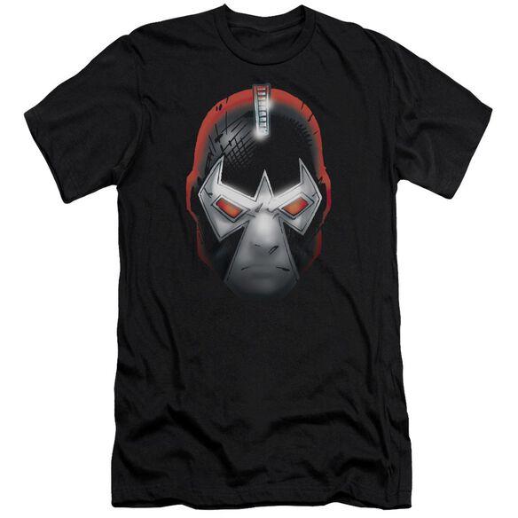 BATMAN BANE HEAD - S/S ADULT 30/1 - BLACK T-Shirt