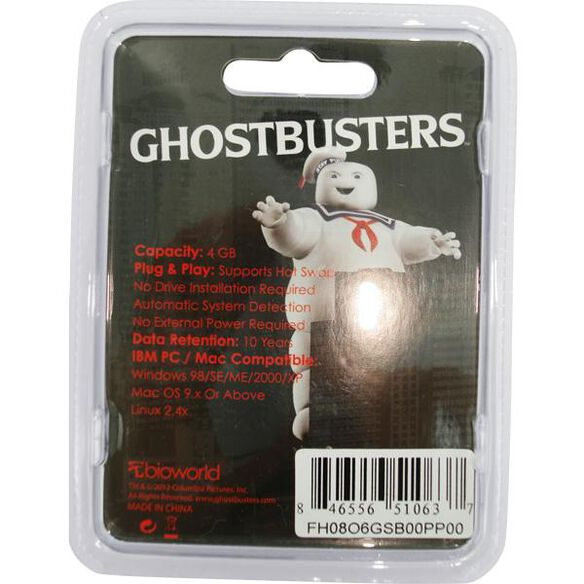 Ghostbusters Flash Drive Keychain
