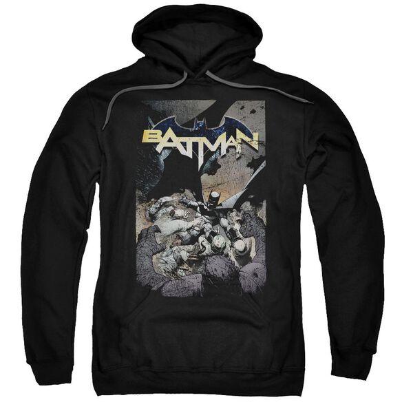 Batman Batman One Adult Pull Over Hoodie
