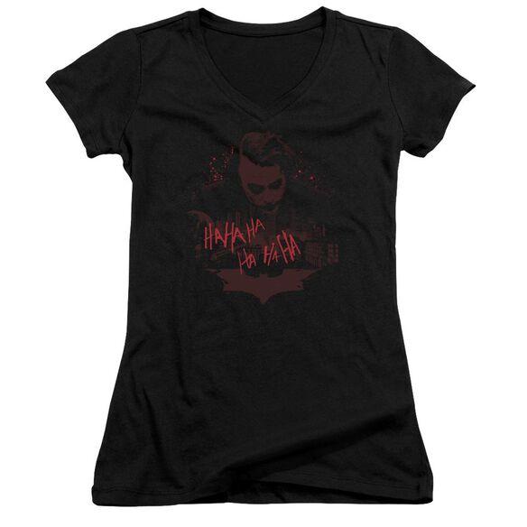 Dark Knight People Will Die Junior V Neck T-Shirt