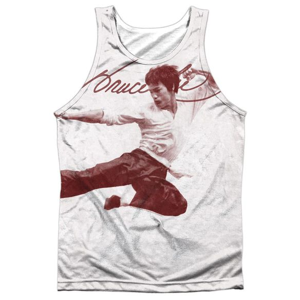Bruce Lee Expectations Adult 100% Poly Tank Top