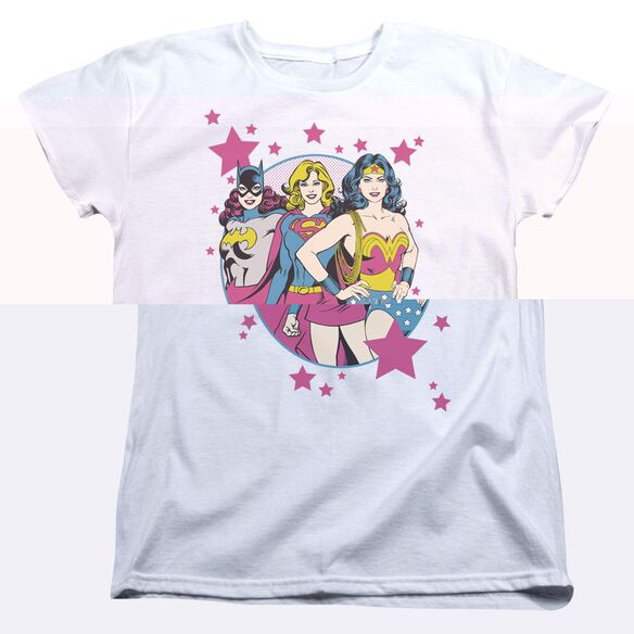 DC WE ARE SUPERIOR - S/S WOMENS TEE - WHITE T-Shirt