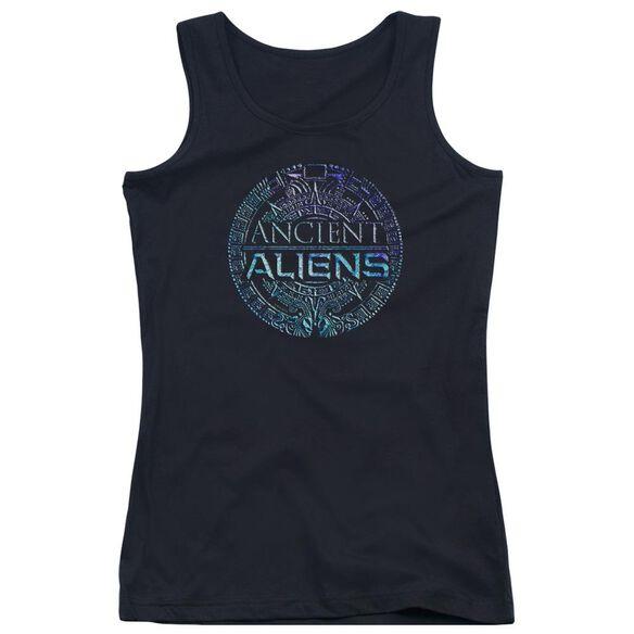 Ancient Aliens Symbol Logo Juniors Tank Top