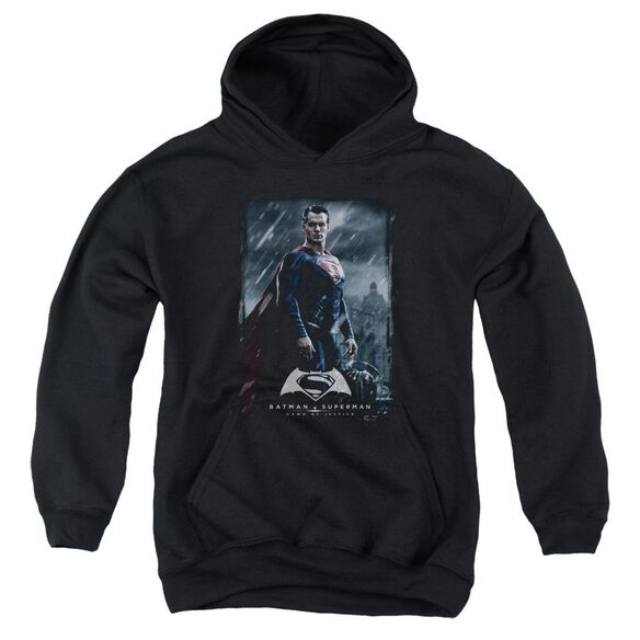 Batman V Superman Supe Poster Youth Pull Over Hoodie