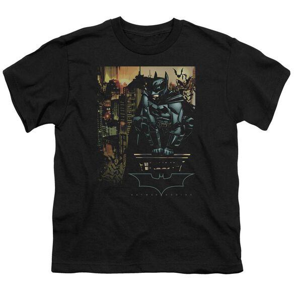 Batman Begins Waiting Short Sleeve Youth T-Shirt