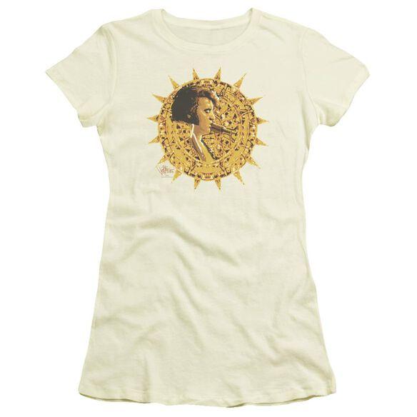 Elvis Sundial Short Sleeve Junior Sheer T-Shirt