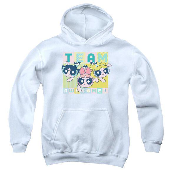 Powerpuff Girls Awesome Block Youth Pull Over Hoodie
