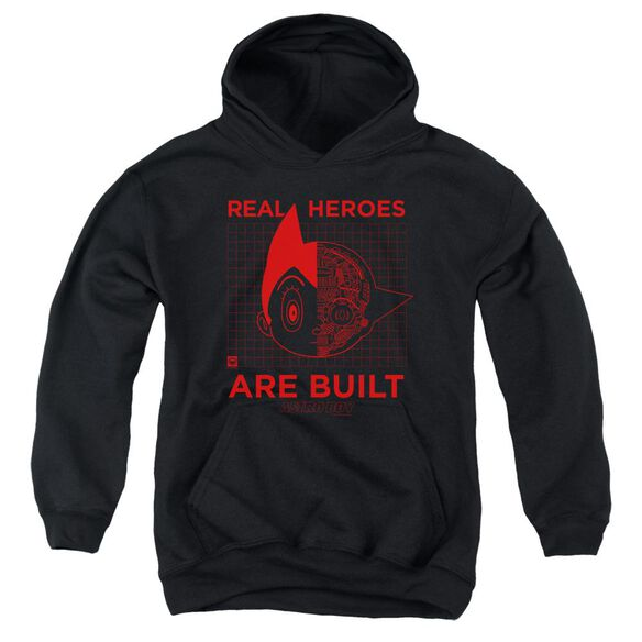 Astro Boy Real Hero Youth Pull Over Hoodie