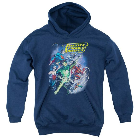 Jla Onward Youth Pull Over Hoodie