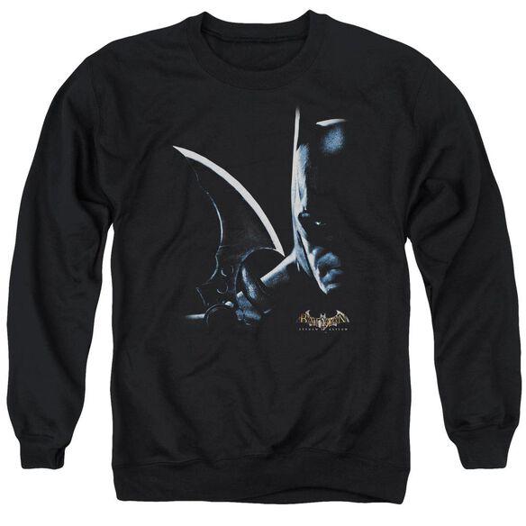 Batman Aa Arkham Batman Adult Crewneck Sweatshirt