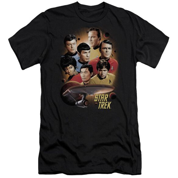 Star Trek Heart Of The Enterprise Short Sleeve Adult T-Shirt